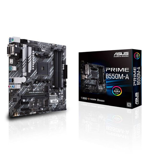 Asus Prime B550M-A/CSM Desktop Motherboard - AMD Chipset - Socket AM4