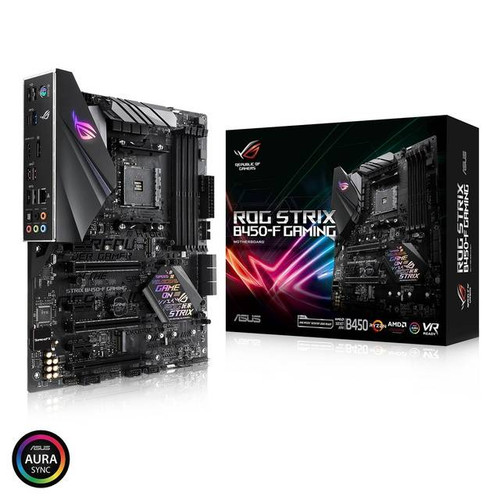 Asus ROG Strix B450-F GAMING Desktop Motherboard - AMD Chipset - Socket AM4