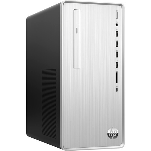 HP Pavilion TP01-1000 TP01-1050 Desktop (2.90 GHz Intel Core-i5-10400 10th Gen Hexa-core (6 Core), 8 GB DDR4 SDRAM, 512 GB M.2 PCI Express NVMe SSD, Windows 10 Home). Ditch the dull black box with a polished silver brushed finish that perfectly fits in any space. Designed with multiple ports located on the front so you can quickly and easily connect your devices.