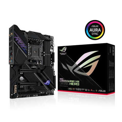 Asus ROG Crosshair VIII Dark Hero AMD Chipset - Socket AM4 Desktop Motherboard