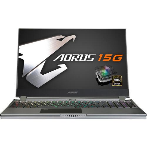 "Gigabyte AORUS 15G XB-8US6150MH 15.6"" Laptop (2.3GHz Intel Core-i7-10875H, 16 GB DDR4 SDRAM, 1 TB SSD, Windows 10 Home)"