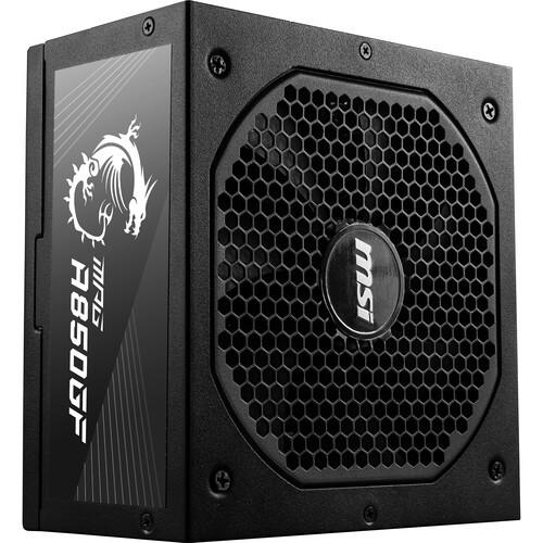 MSI MPG A850GF 80 Plus Gold Modular Power Supply. The MPG gaming power supply can support the NVIDIA GeForce RTX™ 30/20 Series and AMD GPUs. Prepared for the highest of requirements, the MPG power supply's IO supports can support different and versatile ways of connection according to the power connector design of different graphics cards.