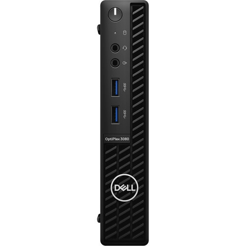Dell OptiPlex 3000 3080 RHDRD Desktop (2.30 GHz Intel Core-i5-10500T 10th Gen Hexa-core (6 Core), 8 GB DDR4 SDRAM, 256 GB SSD, Windows 10 Pro)