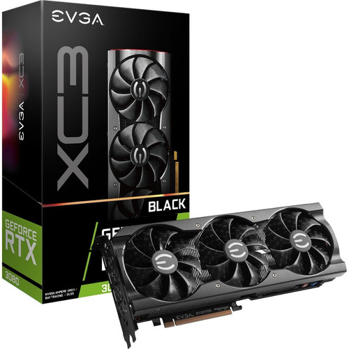 EVGA NVIDIA GeForce RTX 3080 10 GB 10G-P5-3881-KR GDDR6X Graphic Card