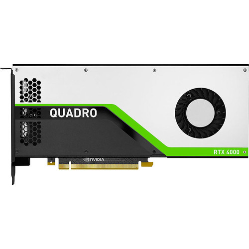 HP NVIDIA Quadro RTX 4000 5JV89AT 8 GB GDDR6 Graphic Card