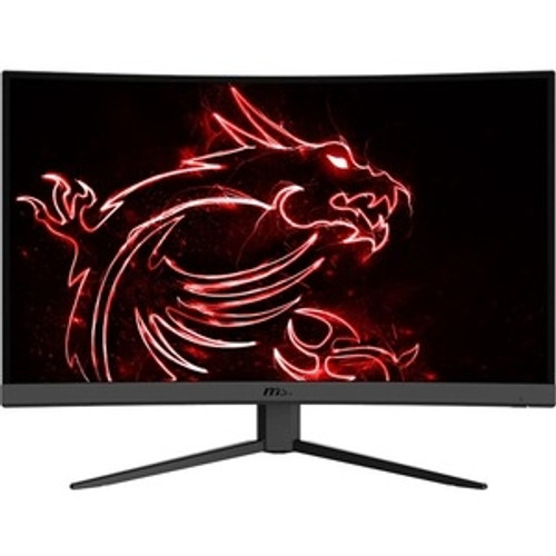 """MSI Optix G27CQ4 27"""" Curved Screen LED Gaming LCD Monitor, Optix monitors are equipped with a 165Hz refresh rate + 1ms response time VA LED panel which has the most benefit in fast moving game genres."""