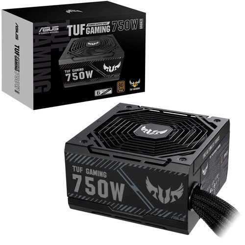 Asus TUF-750B-GAMING 750W Power Supply. High-quality capacitors and chokes undergo a myriad of tests, including extreme temperatures and vibration tests, to ensure they meet rigorous military specifications.