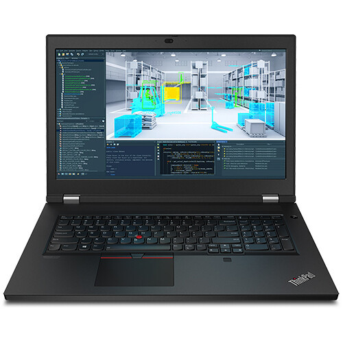 "Lenovo ThinkPad P17 Gen 1 20SN004SUS 17.3"" Mobile Workstation Laptop (2.80 GHz Intel Xeon W-10855M Hexa-core (6 Core), 32 GB DDR4 SDRAM, 512 GB SSD, Windows 10 Pro)"