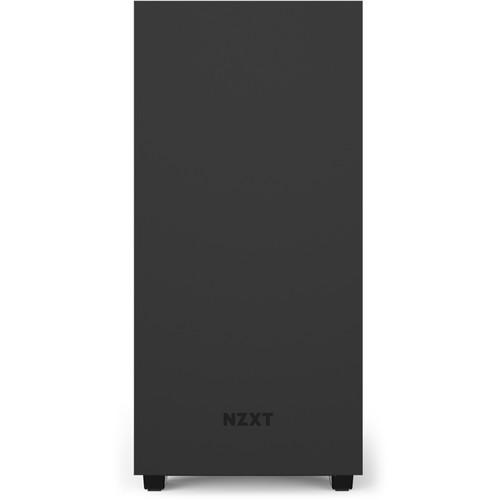 """NZXT Case CA-H510B-BR H510 Mid-Tower Tempered Glass USB 3.5""""/2.5"""" Mini-ITX/MicroATX/ATX Matte Black/Red Retail"""