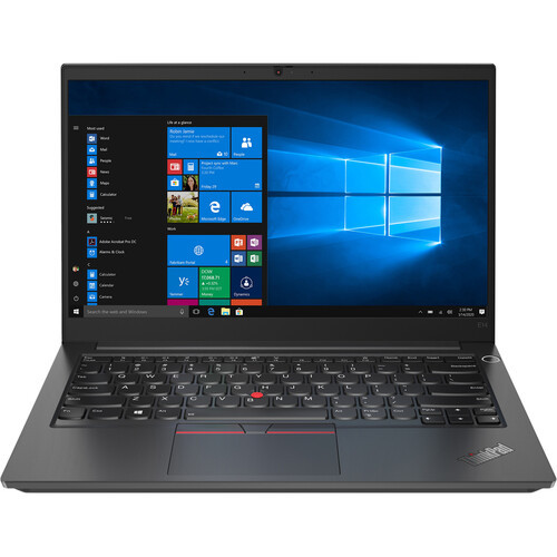 "Lenovo ThinkPad E14 Gen 2 20TA004MUS 14"" Touchscreen Laptop (2.80 GHz Intel Core i7-1165G7 Quad-core (4 Core), 16 GB DDR4 SDRAM, 512 GB SSD, Windows 10 Pro)"