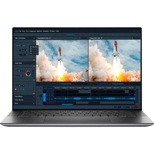 "Dell Precision 5000 PD52D 15"" Mobile Workstation Laptop (2.60 GHz Intel Core i7-10750H (10th Gen) Hexa-core (6 Core), 16 GB DDR4 SDRAM, 512 GB SSD, Windows 10 Pro)"
