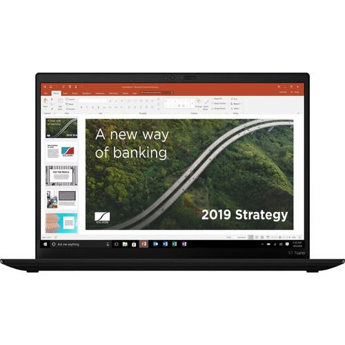 "Lenovo ThinkPad X1 Nano Gen1 20UN000EUS 13"" Ultrabook Laptop (2.10 GHz Intel Core i7-1160G7 Quad-core (4 Core), 16 GB DDR4 SDRAM, 512 GB SSD, Windows 10 Pro)"