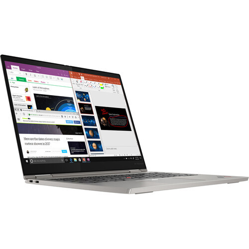 """Lenovo ThinkPad X1 Titanium Yoga Gen 1 20QA000QUS 13.5"""" Touchscreen 2 in 1 Laptop ,Crush your workload with flexible performance using the 13.5"""" ThinkPad X1 Titanium Yoga Gen 1 Multi-Touch 2-in-1 Laptop from Lenovo. Boasting a 2.2 GHz 11th Gen Intel Core i7 processor and 16GB of RAM, this laptop provides snappy processing for enterprise-level productivity. The 2-in-1 design allows for use in laptop, tablet, tent, and stand mode, thanks to a 360° hinge. Navigate the 13.5"""" 2256 x 1504 IPS touchscreen using the included Lenovo Digital Pen. Ready to jet? The X1 Titanium Yoga Gen 1 features a thin and light design with a weight of just 2.5 p"""