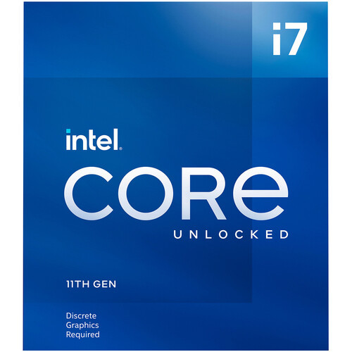 Intel Core i7-11700KF 3.6 GHz Eight-Core LGA 1200 Processor