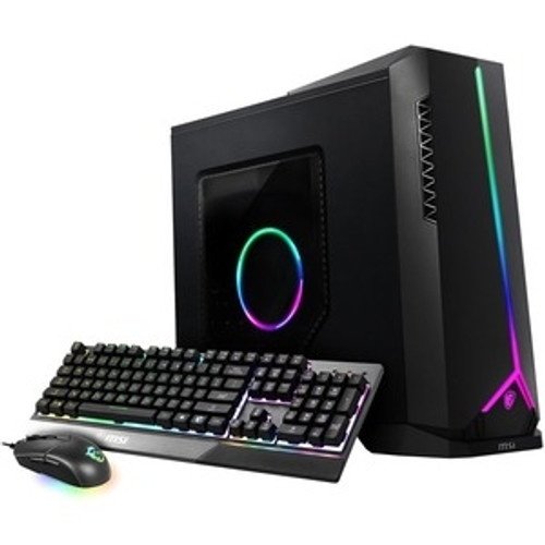MSI Aegis SE AegisSE10CQ075US Gaming Desktop (2.90 GHz Intel Core i5-10400F (10th Gen) Hexa-core (6 Core), Radeon RX 5600 XT, 16GB DDR4 SDRAM, 512GB SSD, Windows 10 Home)
