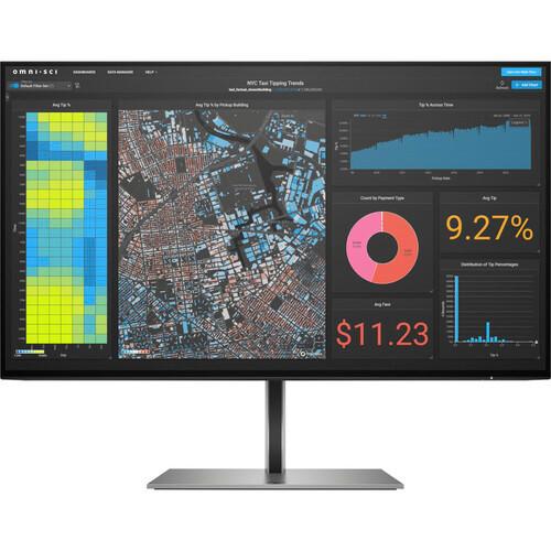 """HP Z24f G3 23.8"""" Full HD LCD Monitor - 16:9 - Silver"""