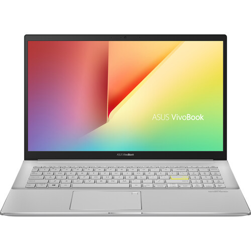 """Asus VivoBook S15 S533 S533EA-DH51-WH 15.6"""" Laptop (2.40 GHz Intel Core i5-1135G7 (11th Gen) Quad-core (4 Core), 8 GB DDR4 SDRAM, 512 GB SSD, Windows 10 Home) bolder look thats sure to get pulses racing. The slim and lightweight VivoBook S15 now features an 11th Generation Intel Core Processor, diamond-cut edges and a textured finish"""