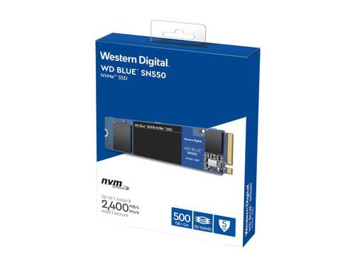 WD Blue SN550 WDS500G2B0C 500 GB Solid State Drive - M.2 2280 Internal - PCI Express NVMe (PCI Express NVMe 3.0 x4)