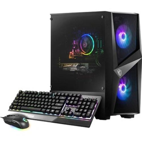"MSI Codex R 10SI-029US Gaming Desktop (2.90 GHz Intel Core i5-10400F (10th Gen) Hexa-core (6 Core), 16 GB DDR4 SDRAM, GTX 1660 Super, 1 TB HDD, 240 GB 2.5"" SSD, Windows 10 Home)"