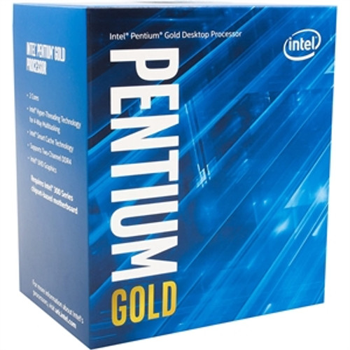Intel Pentium Gold G6400 Dual-core (2 Core) 4 GHz Processor - Retail Pack