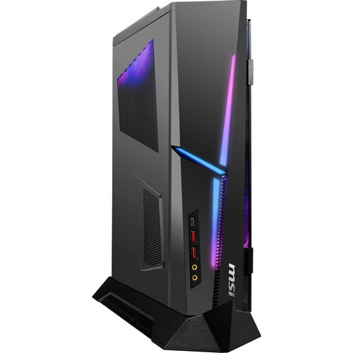 MSI MEG Trident X 10TD-1282US Gaming Desktop (3.8GHz Intel Core i7-10700K (10th Gen), 32 GB DDR4 SDRAM, RTX 3070, 1 TB M.2 NVMe SSD, , Windows 10 Home)