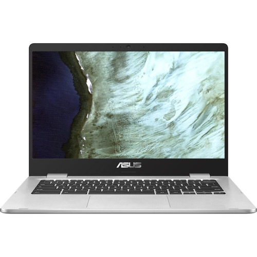 "Asus Chromebook C423 C423NA-DH02 14"" Chromebook Laptop (1.10 GHz Intel Celeron N3350-Dual-core (2 Core), 4 GB DDR4 SDRAM, 32 GB Flash Memory, Windows Chrome OS)"