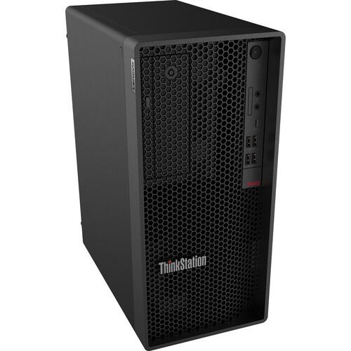 Lenovo ThinkStation P340 30DH00J4US Workstation Desktop (2.90 GHz Intel i7-10700 Octa-core (8 Core), 16 GB DDR4 SDRAM, 1 TB SSD, Windows 10 Pro)