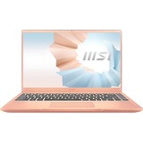 "MSI Modern 14 B11MO-242 14"" Rugged Laptop (900 MHz Intel Core i7-1165G7 (11th Gen), 8 GB DDR4 SDRAM, Iris Xe, 512 GB SSD, Windows 10 Home)"