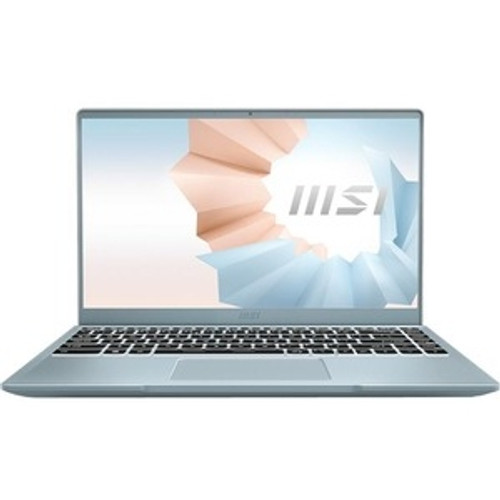 "MSI Modern 14B211 14"" Ultrabook Laptop (3.00 GHz Intel Core i3-1115G4, 8 GB DDR4 SDRAM, Iris Xe, 512GB SSD, Window 10 Home)"