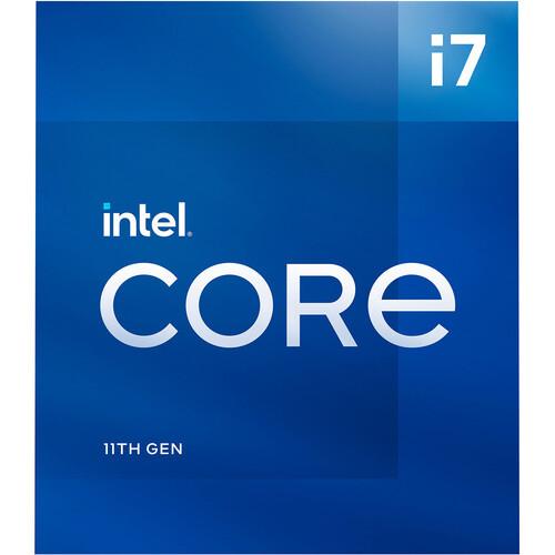 Intel Core i7-11700 8-Core Rocket Lake Processor 2.5GHz 8GT/s 16MB LGA 1200 CPU Retail