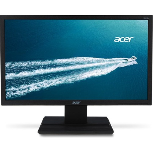 Acer V226HQL Series monitors feature Acer eColor technology for striking visuals, and Acer ComfyView innovations that reduce glare to deliver most-comfortable viewing. These sturdy monitors also have a wide array of ports, so you can connect many types of devices and do more at once