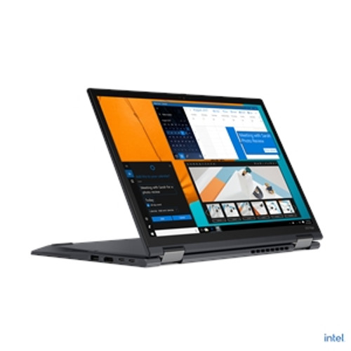 "Lenovo ThinkPad X13 Yoga Gen 2 20W8002VUS 13.3"" Touchscreen 2 in 1 Laptop (2.60 GHz Intel Core i5-1145G7 (11th Gen) Quad-core (4 Core), 8 GB DDR4 SDRAM, 256 GB SSD, Windows 10 Pro)"