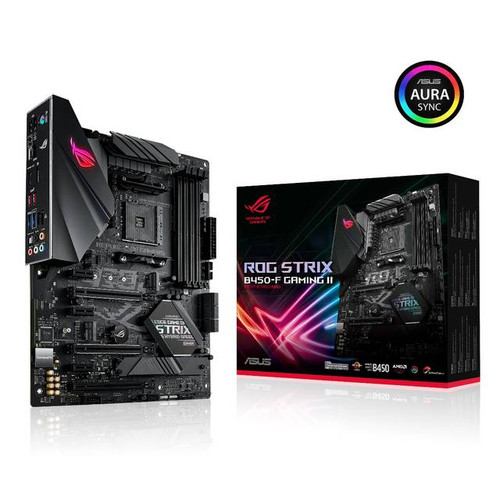 ROG Strix B450-F Gaming II delivers all the essentials needed for a well-balanced build. Designed to handle the latest 3rd Gen AMD Ryzen™ processors, ROG Strix B450-F Gaming II features amped-up power delivery, optimized thermal design and more stable DDR4 memory.
