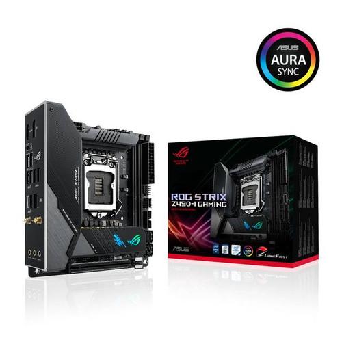 Asus ROG Strix Z490-I GAMING Desktop Motherboard - Intel Chipset - Socket LGA-1200 - Intel Optane Memory Ready - Mini ITX
