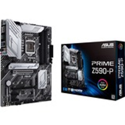 ASUS Prime series motherboards are expertly engineered to unleash the full potential of 10th and 11th Generation Intel® Core™ processors. Boasting a robust power design, comprehensive cooling solutions and intelligent tuning options, Prime Z590-P provides daily users and DIY PC builders a range of performance tuning options via intuitive software and firmware features.