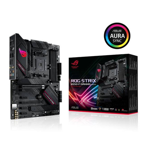 Asus ROG Strix B550-F GAMING (WI-FI) Desktop Motherboard - AMD Chipset - Socket AM4 - ATX