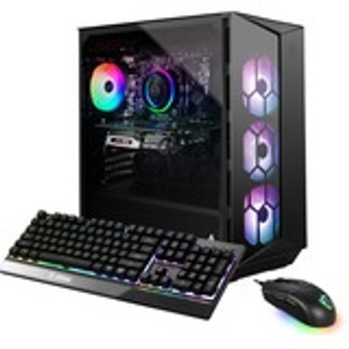 MSI Aegis RS 11TE-095US Gaming Desktop (3.60 GHz Intel Core i7-11700K (11th Gen) Octa-core (8 Core), 16 GB DDR4 SDRAM, RTX 3080, 2 TB HDD, 1 TB M.2 NVMe SSD, Windows 10 Home)