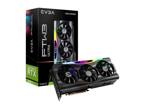EVGA GeForce RTX 3080 Ti FTW3 ULTRA GAMING, 12G-P5-3967-KR, 12GB GDDR6X, iCX3 Technology, ARGB LED Graphics Card