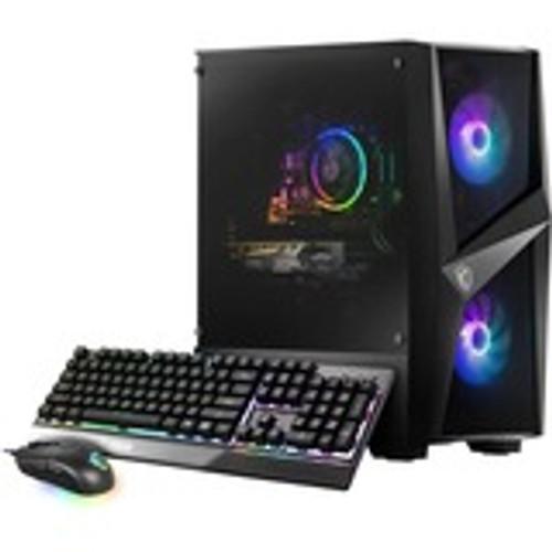 MSI Codex R 11TC-032US Gaming Desktop (2.60 GHz Intel Core i5-11400F (11th Gen) Hexa-core (6 Core), 16 GB DDR4 SDRAM, 1 TB HDD, 512 GB M.2 NVMe SSD, Windows 10 Home)