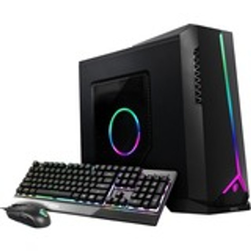 "MSI Aegis SE 10th 10SI-211US Gaming Desktop (2.90 GHz Intel Core i5-10400F (10th Gen) Hexa-core (6 Core), 16 GB DDR4 SDRAM, 1 TB HDD, 240 GB 2.5"" SSD, Windows 10 Home)"