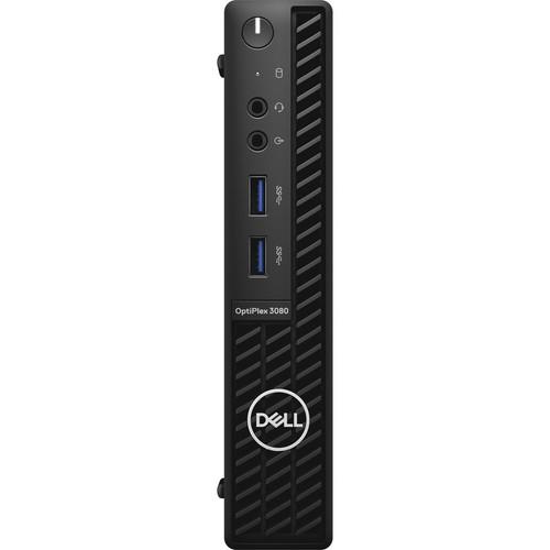 Dell OptiPlex 3000 3080 Desktop (2.30 GHz Intel Core i5-10500T (10th Gen) Hexa-core (6 Core), 8 GB DDR4 SDRAM, 256 GB NVMe M.2 SSD, Windows 10 Pro)