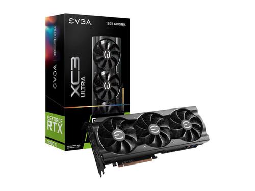 EVGA GeForce RTX 3080 Ti XC3 ULTRA GAMING 12G-P5-3955-KR 12GB GDDR6X iCX3 Cooling ARGB LED Graphics Card