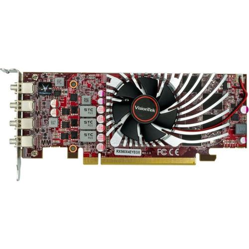 VisionTek AMD Radeon RX 560 Graphic Card - 4 GB GDDR5 - Low-profile