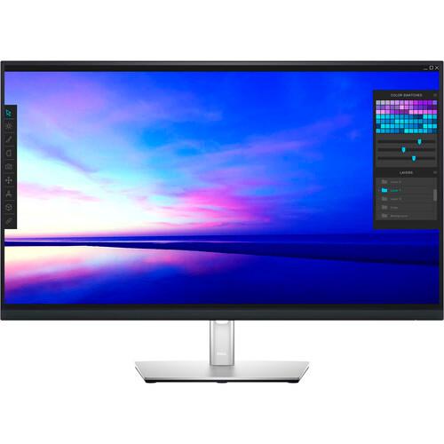 "Dell P3221D 31.5"" Black LCD Monitor"