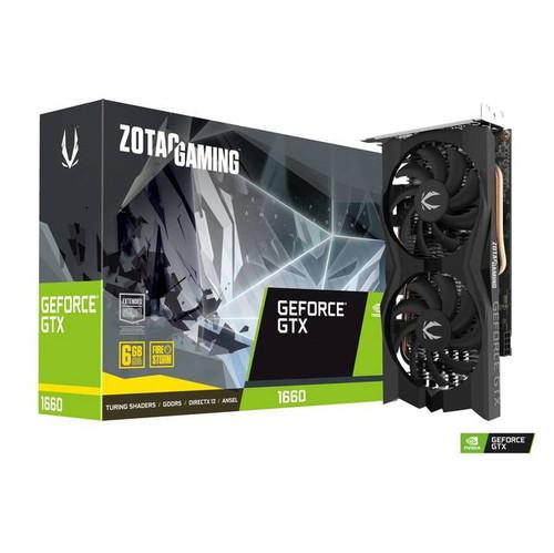 ZOTAC NVIDIA GeForce GTX 1660 GAMING Video Card ZT-T16600K-10M