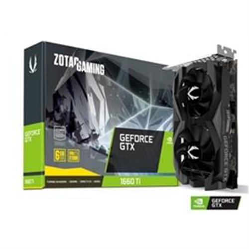 ZOTAC Video Card ZT-T16610F-10L NVIDIA GeForce GTX 1660 Ti 6GB GDDR6 192B 3xDP/HDMI