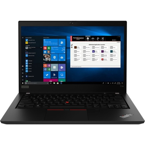 "Lenovo ThinkPad P14s Gen 1 20S4003EUS 14"" Touchscreen Mobile Workstation Laptop (i7-10610U 1.80 GHz Intel Core i7 10th Gen Quad-core (4 Core), 16 GB DDR4 SDRAM, 512 GB SSD, Windows 10 Pro)"