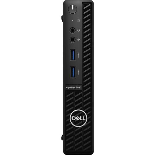 Dell OptiPlex 3000 3080 Desktop (3 GHz Intel Core I3-10105T 10th Gen Quad-core (4 Core), 4 GB DDR4 SDRAM, 500 GB HDD, Windows 10 Pro)
