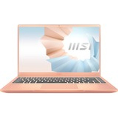 "MSI Modern 14 B11MO-609 14"" Rugged Laptop (1.30 GHz Intel Core i3 11th Gen i3-1115G4, 8 GB DDR4 SDRAM, 512 GB SSD, Windows 10 Home)"