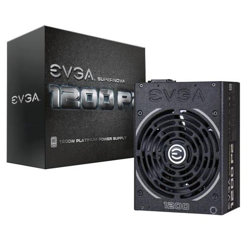 EVGA SuperNOVA 1200 P2 80+ PLATINUM, 1200W ECO Mode Fully Modular NVIDIA SLI and Crossfire Ready Power Supply 220-P2-1200-X1